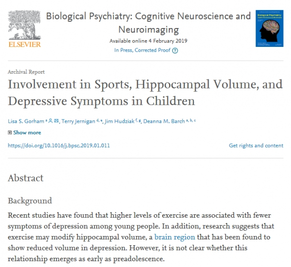 Biological Psychiatry: Cognitive Neuroscience and Neuroimaging